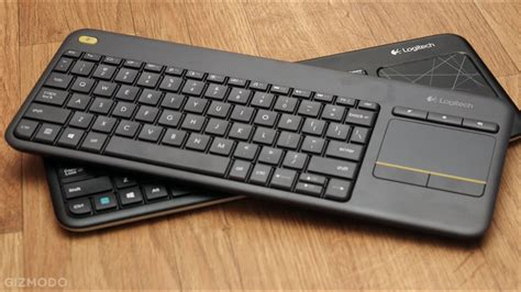 This Might Be The Coolest Media Keyboard EVER!!   Logitech