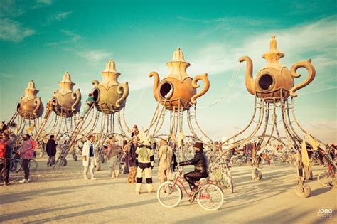 The Lost Tea Party | Burning Man 2016: Surreal