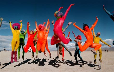 People Did Some Weird Sh*t At Burning Man Festival This Year