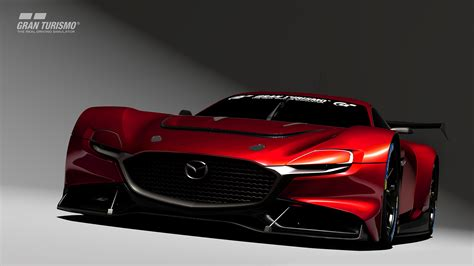 Introducing the 'RX-Vision GT3 Concept' from Mazda, now an